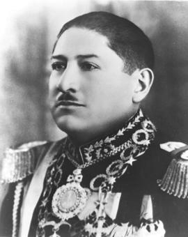 General Enrique Peneranda, President of Bolivia