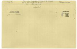 'ADEN - Sheikh Muhamed Farid, Minister of External Affairs, Federation of South Arabia - Comm.254...