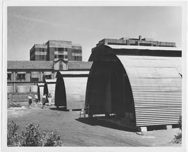 CNRRA / 215 The wartime quonset hut has proved easily adaptable for peacetime use