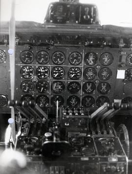 Engine instrument panel.