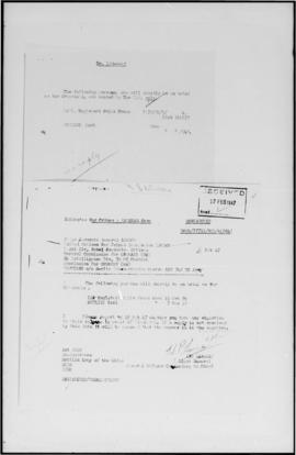 UNWCC - Trial of alleged German War Criminals by British Authorities - Results, sentences, releas...
