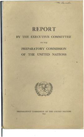 Preparatory Commission of the United Nations - Reports