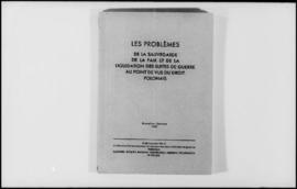 UNWCC - Publications - War Crimes Submitted by Governments - Poland - Les Problems de la Sauvegar...