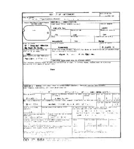 POW Cemetary Number 2 - Pusan, Korea - Internment Report - Grave 5547