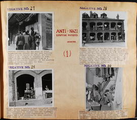 Anti-Nazi European refugees - Negatives No. 27 to 30
