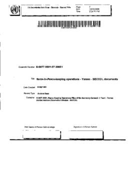 SECCOL documents