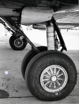 left-Hand main landing gear.