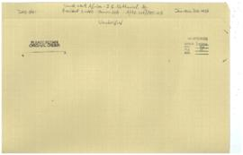 'A/AC.109/PET.105 - South West Africa - I.G. Nathaniel, Ag. President SWAPO - Comm.226'